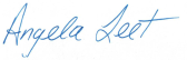 Angela's Signature