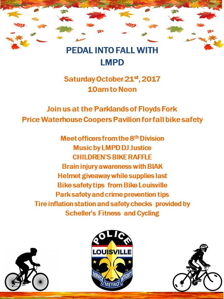 Pedal into fall flyer